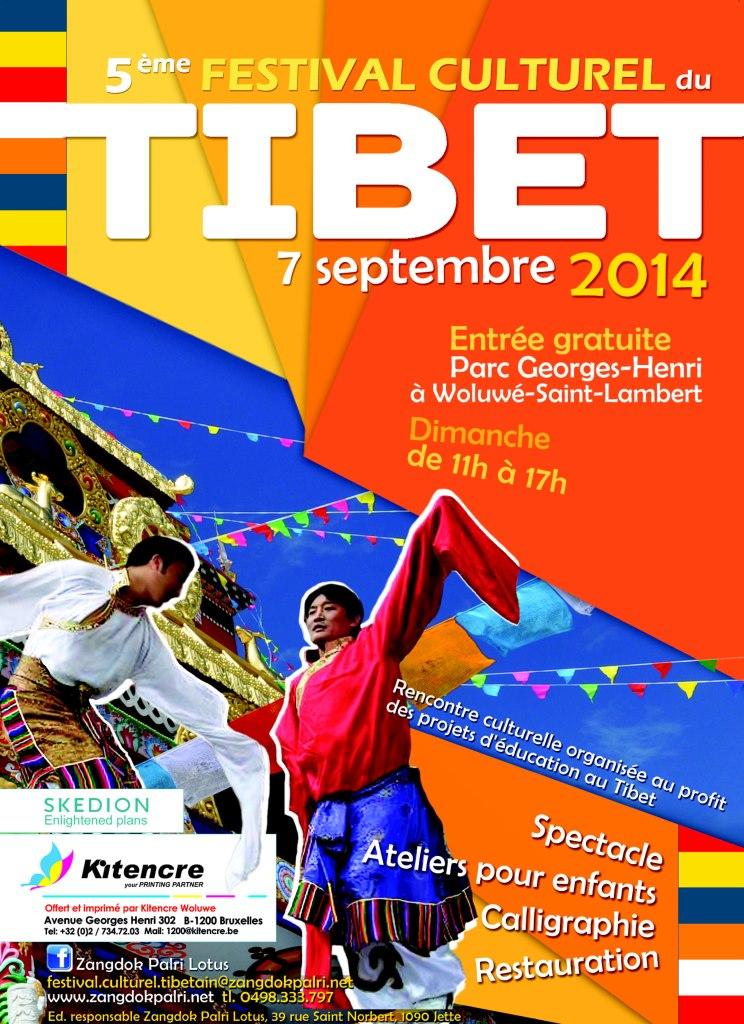 poster cultural festival of Tibet-affiche festival culturel du Tibet