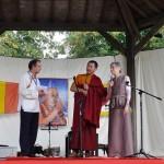 Patrul Rinpoché lors de la 5ème édition du Festival, en 2015