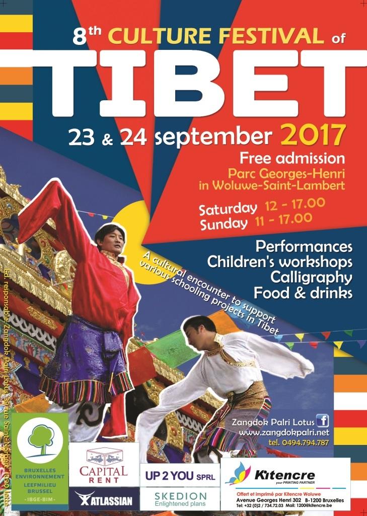 Poster Festival Cultural Tibet 2017