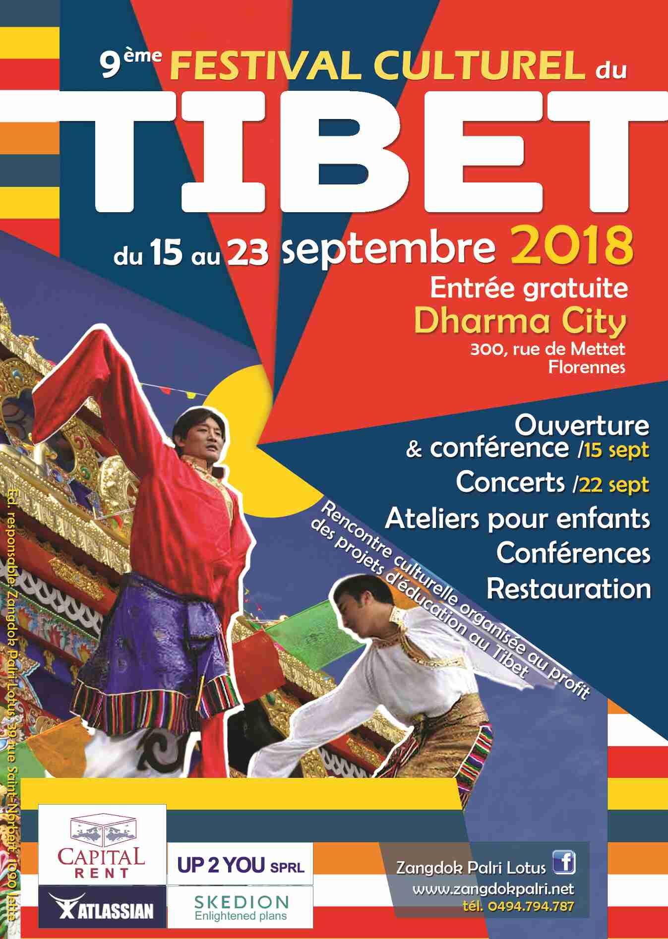 Poster Festival Cultural Tibet 2018
