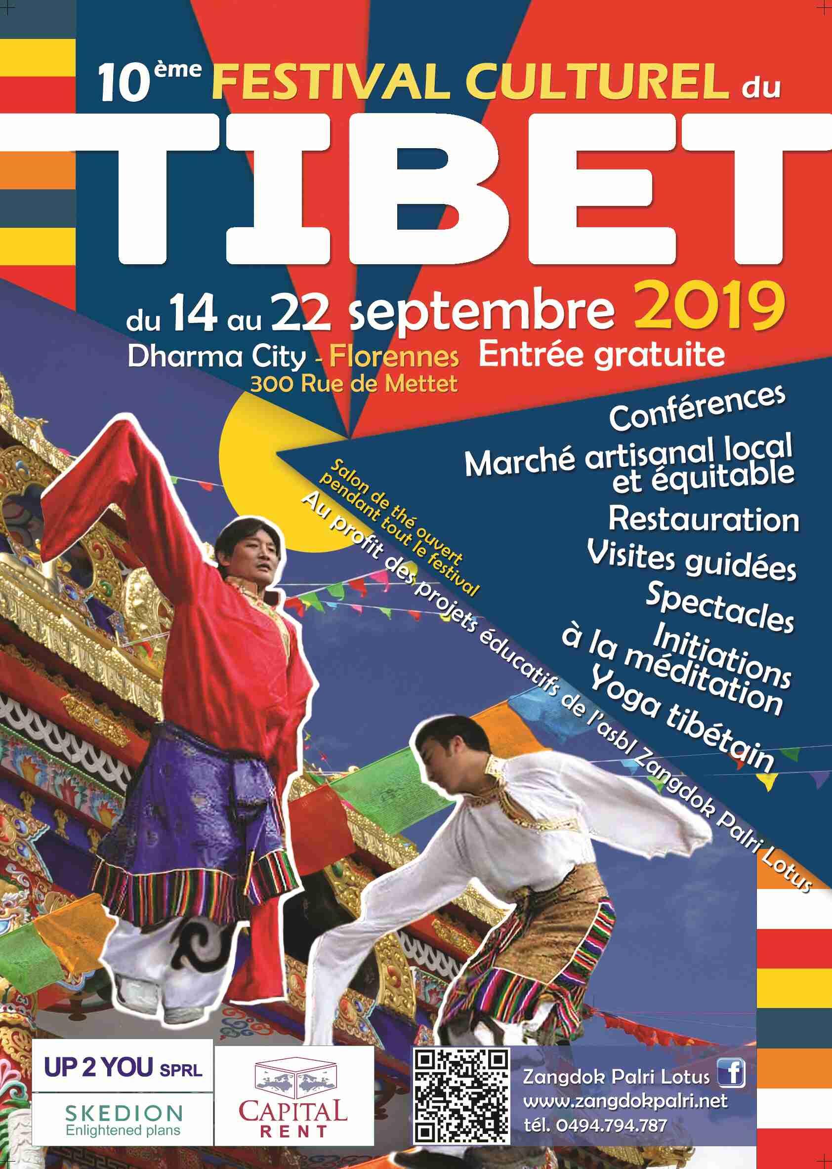 Poster Festival Cultural Tibet 2019